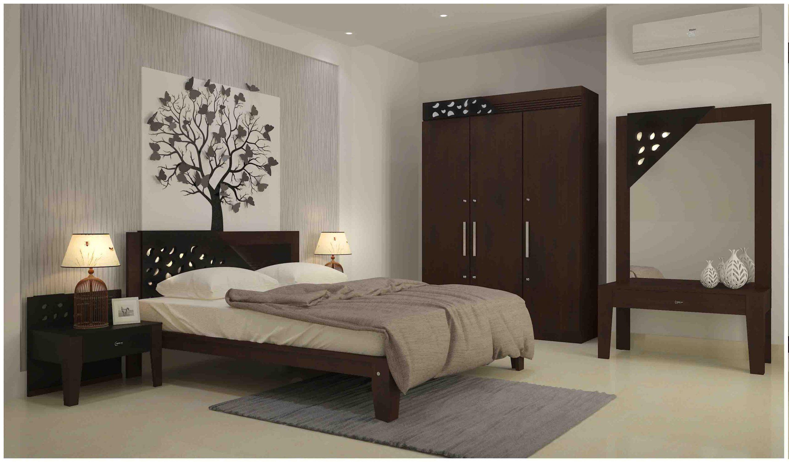 Modern bedroom furnitures
